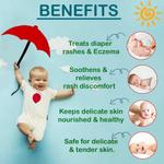 BeyBee Baby Sunscreen Lotion for Kids & Newborn Babies SPF 50 PA+++ 120ml - UVA/UVB Sun Protection, Water Resistance
