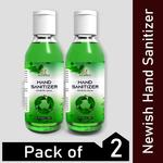 Newish Hand Sanitizers with Alcohol and Lemon Pocket Size (100 ml) Pack of 5