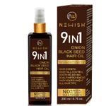Newish Onion Black Seed Hair Oil for Hair Fall 200ml