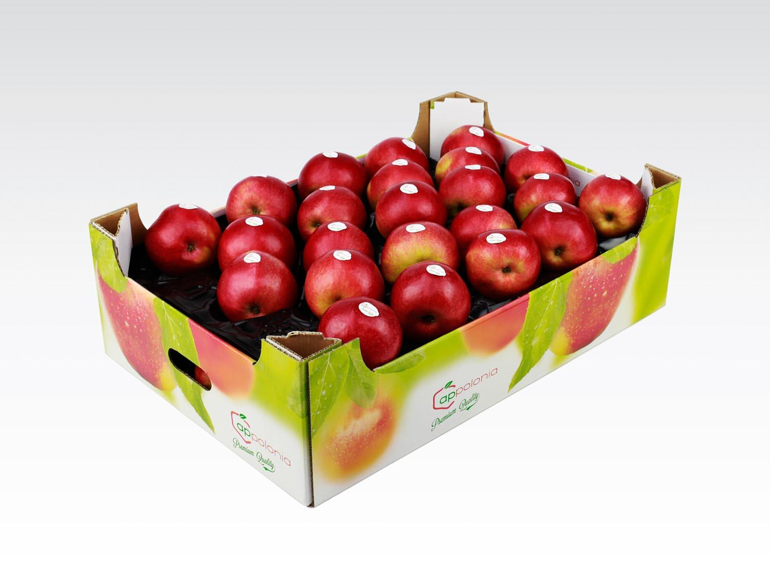 Apple Red Usa - Box