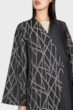Brocade Printed Abaya