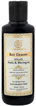Khadi Natural Amla & Bhringraj Hair Cleanser -210 ml