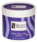Organic Essence Lavender Shea Cream - 4 Oz