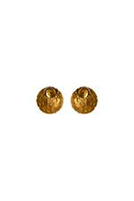 Gunina Gold Stud Earrings (GE1230 Gold)