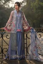 Saadia Mirza Rayon De Lune Unstitched Dress Material