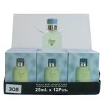 A pack of (12) Smart Collection Perfume No 308 - LIGHT BLUE M