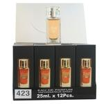 A pack of (12) Smart Collection Perfume No 423 - GUCCI MEN
