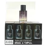 A pack of (12) Smart Collection Perfume No 446 - SAUVAGE-MEN