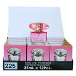 A pack of (12) Smart Collection Perfume No 225 - VERSACE BRIGHT CRYSTAL
