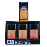 A pack of (12) Smart Collection Perfume No 68 - AZZARO MEN