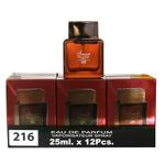 A pack of (12) Smart Collection Perfume No 216 - EUPHORIA MEN