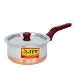 JIT Copper Brown Sauce Pan- 17 cm