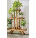 Zoro Wooden Plant Stand- 85 cm