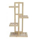 Ecopot Wooden Plant Stand  4 Tier