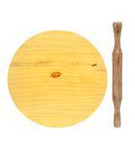 JIT Wooden Chakla Belan Set- 12 cm