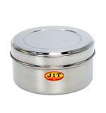 JIT Stainless Steel Puri Dabba- 14.5 cm