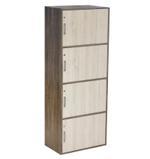 UK 4 Door Storage With Lock