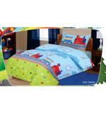 Home Style Fun Train 3 Pcs Single Kids Comforter Set