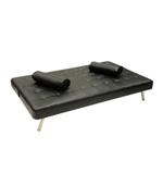 Mellow 3 Seater Sofabed- Black