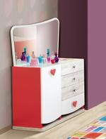 Emotion Chest of Drawers With Mirror