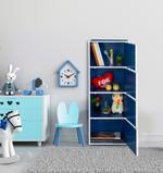 Nova 4 Door Storage Cabinet- Blue