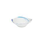 "Moments Style Square Ocean Blue Rim Bowl- 5.5"""