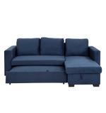 Cannes L Shape Corner Sofa- Blue