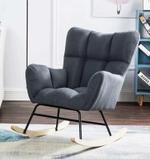 Camille Grey Rocking Chair