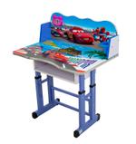 Buzz Kids Writing Desk & Chair With Clock- Blue