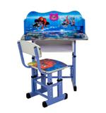 Spider Man Kids Writing Desk & Chair With Clock