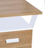 Temora Study Desk With 3 Drawers
