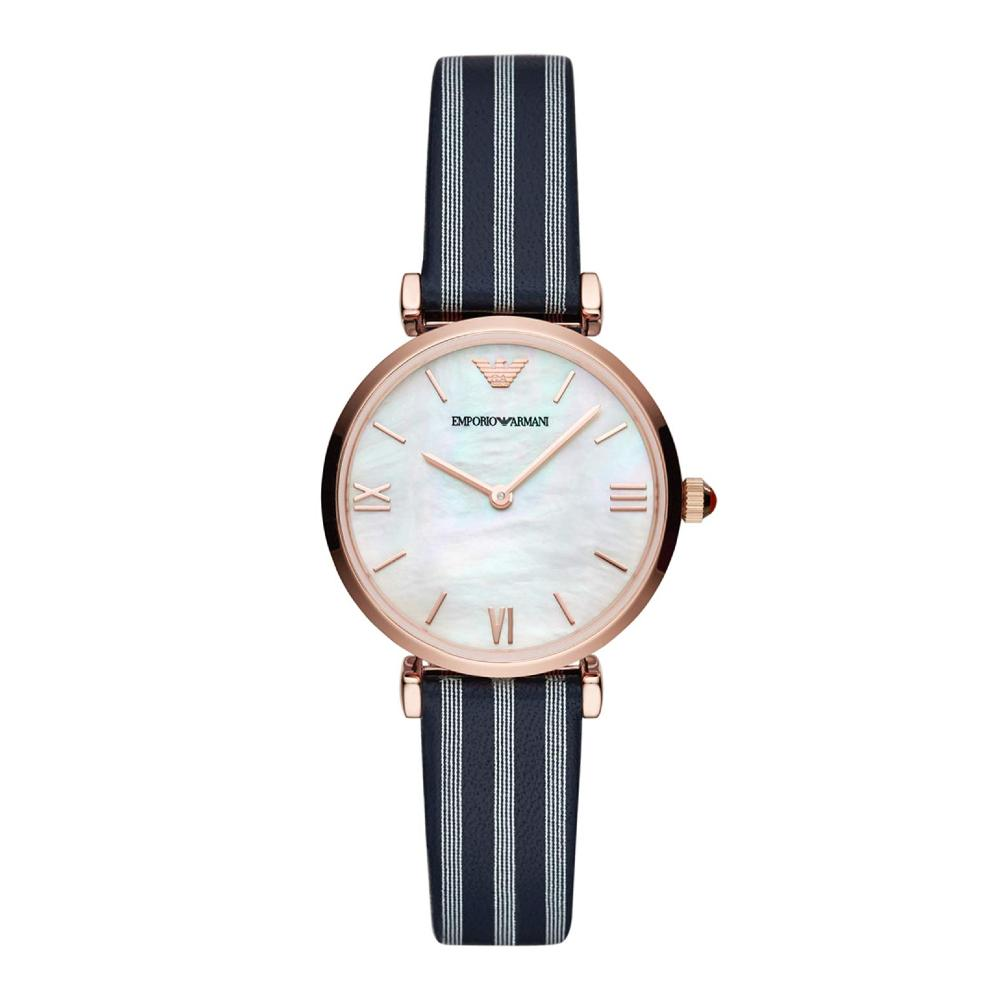 Emporio Armani Analog White Dial Women's Watch-AR11224