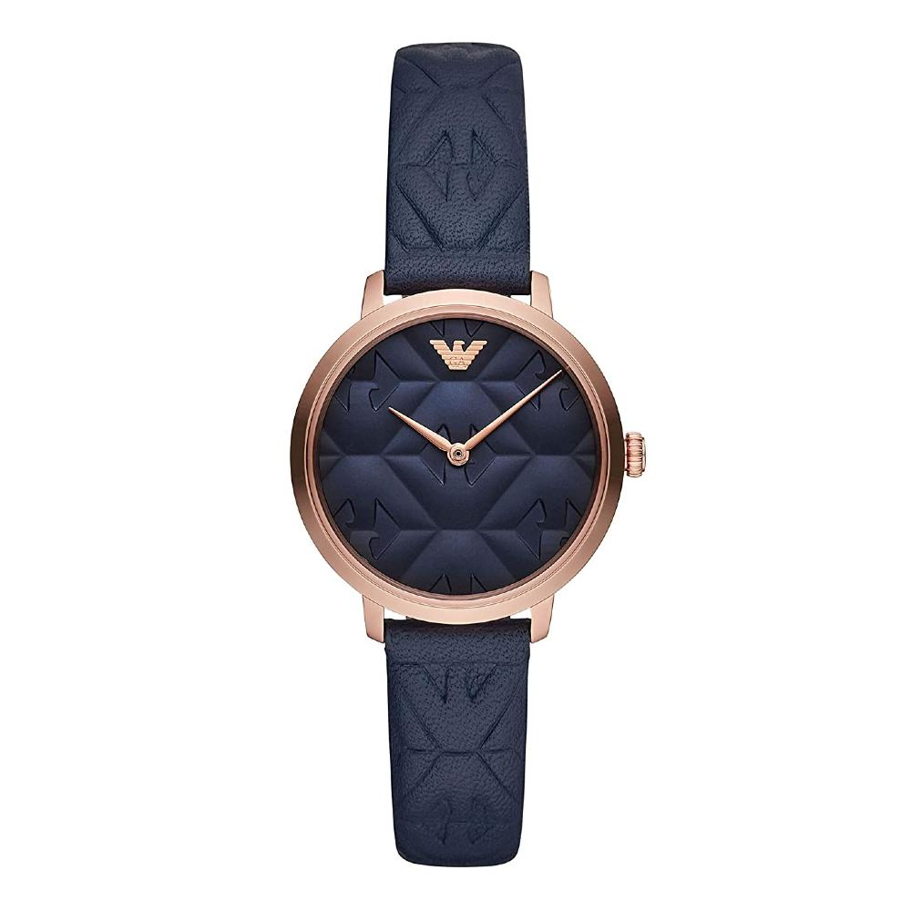 Emporio Armani Analog Blue Dial Womens Watch AR11231