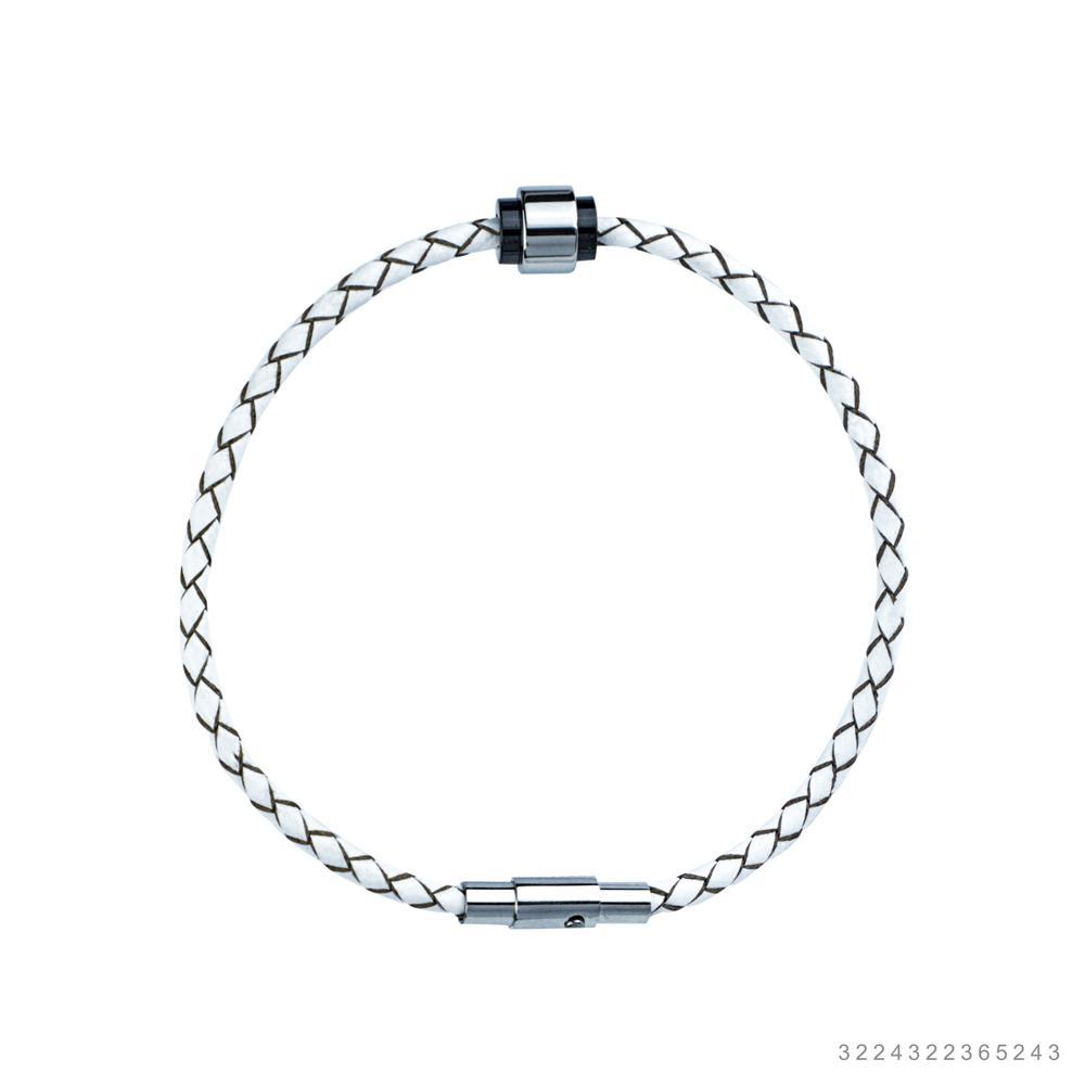 Fabian Men's Leather Bracelet FMB-JMYLB103-W20S