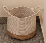 Handcrafted Cane Multi-Utility Basket