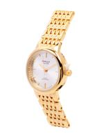 Omax HBJ,HSA,HSJ Heavy Band Stainless steel Silver Watch For Women