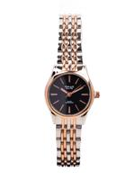 Omax HBJ,HSA,HSJ Heavy Band Stainless steel Black Watch For Women