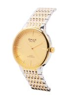 Omax HBJ,HSA,HSJ Heavy Band Stainless steel Gold 42 mm Watch For Men