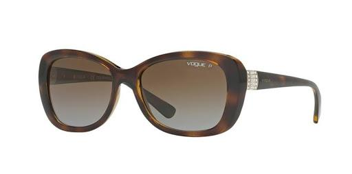 VOGUE 0VO2943SB FEMALE W656T5 DARK HAVANA