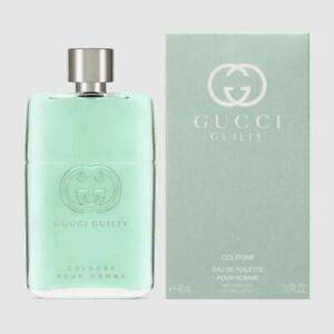 Gucci Guilty Cologne Pour Homme For Men Eau De Toilette 90ML