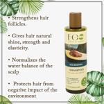 EO Laboratorie Organic nourishing shampoo, for weak & split hair extreme moisture with avocado oil