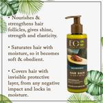 EO Laboratorie Organic balm & conditioner nourishing, for weak & split hair with avocado oil & ylang ylang silicone, parabens & sulfate free