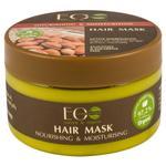 EO Laboratorie Organic Argan oil hair mask, nourishing & moisturising, repair split ends & promotes hair growth, chemical free sulfate & silicone free