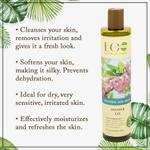 EO Laboratorie Organic shower gel freshness and shine fresh floral scent safe for children