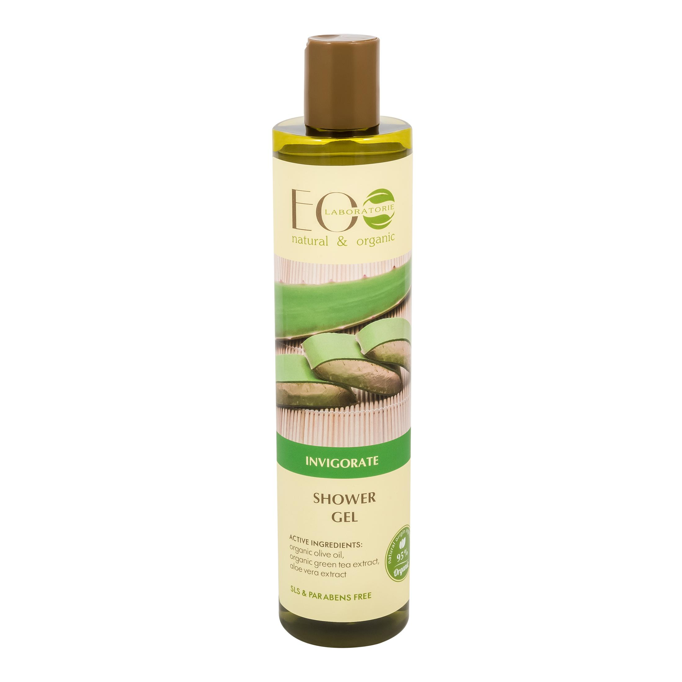 EO Laboratorie Organic shower gel invigorate clean scent safe for children