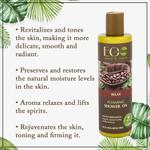 EO Laboratorie Organic Bubbling bath & shower oil relax silicone, parabens & sulfate free