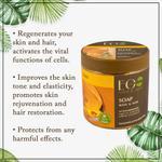 EO Laboratorie Organic Argan oil gold soap, for body and hair, moisturizing & rejuvenating, safe for children