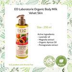 EO Laboratorie Organic Body milk velvet skin softening with lavender oil