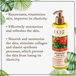 EO Laboratorie Organic Body milk vitamins for dry skin with strawberry extract