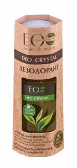 EO Laboratorie Organic Deodorants deo crystal oak barque and green tea unscented aluminum-free